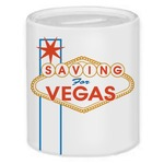 Saving For Vegas Coin Bank