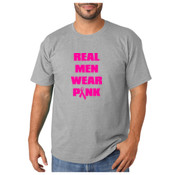 Real Men Wear Pink (to support awareness)