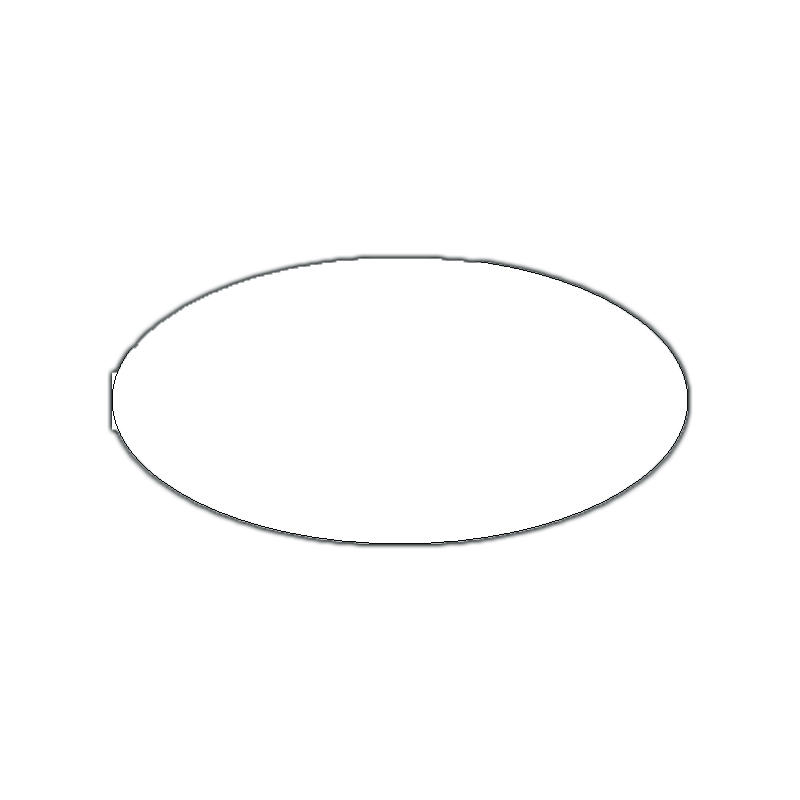 Gallery For gt Blank Oval