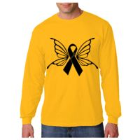 Adult Heavy Cotton Long-Sleeve T-Shirt Thumbnail