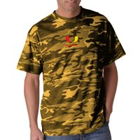 Adult Camouflage Cotton Tee Thumbnail
